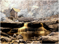Grist Mill - Infrared