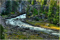 Yellowstone - Firehole River Rapids