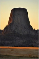 Wyoming - Devils Tower - Evening Light