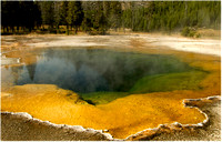 Yellowstone - Black Sand Basin - Rainbow Pool