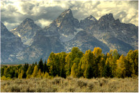 Tetons - First Fall Color